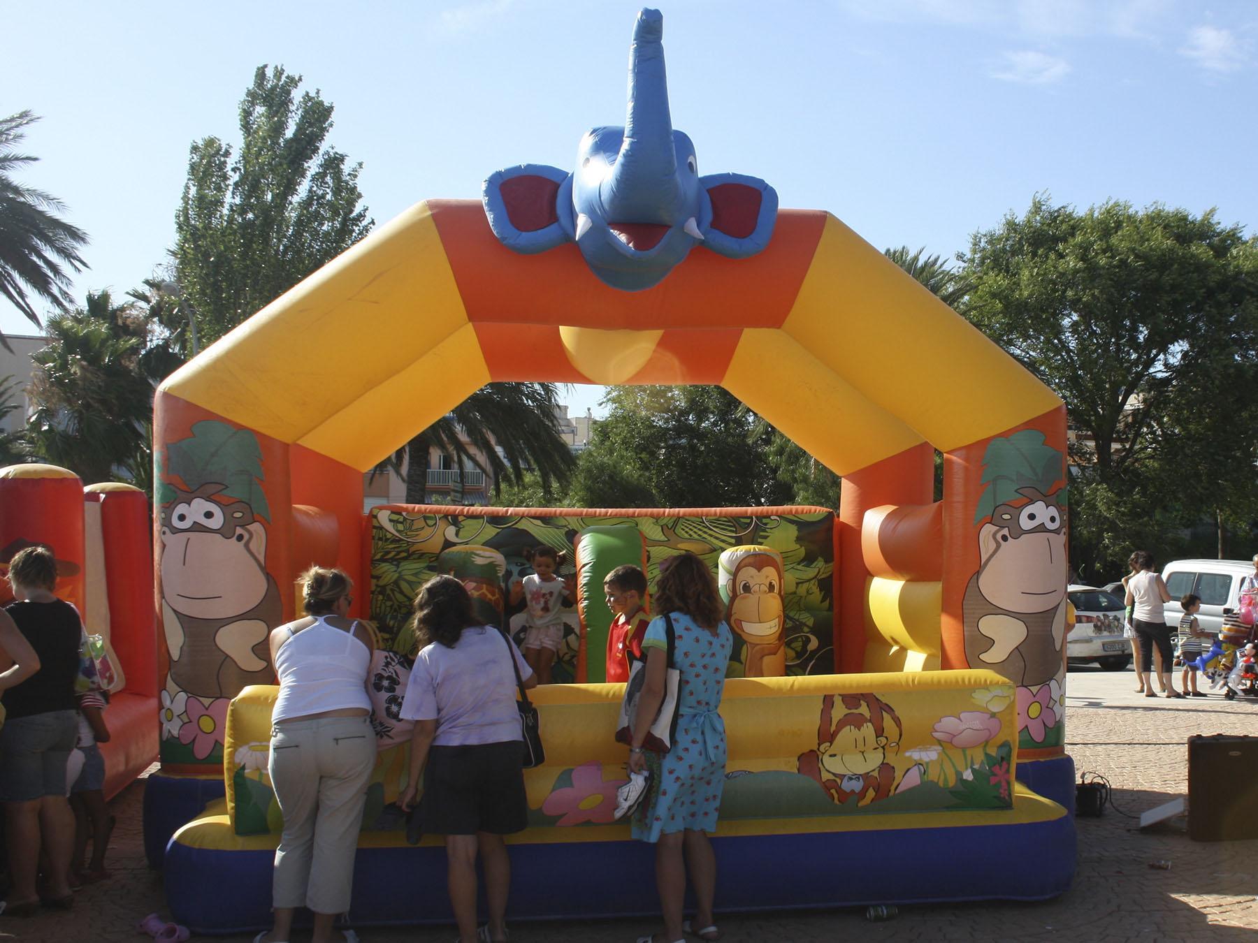 Castell elefant Foto 1