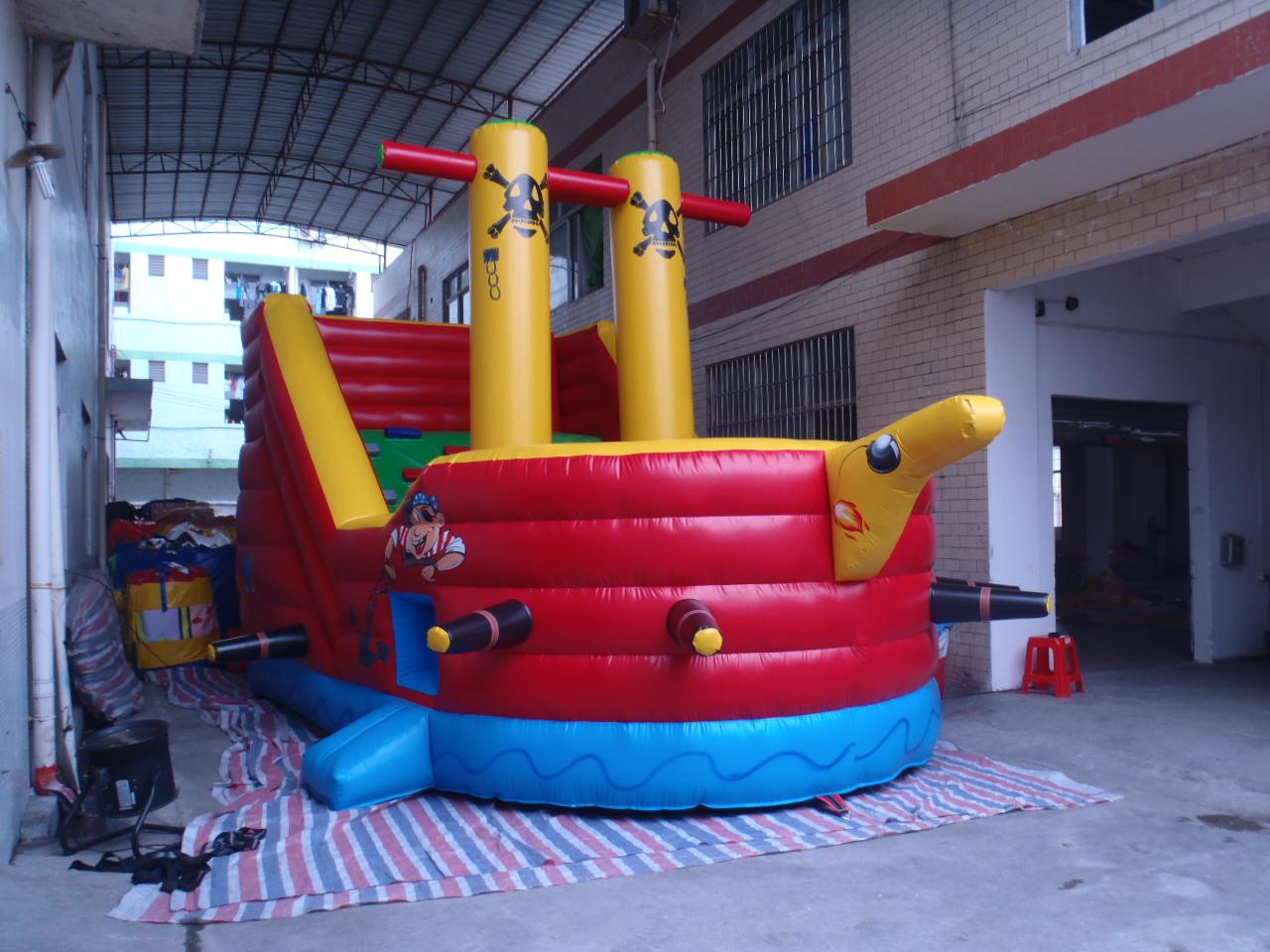 Castell pirata 2 mastils Foto 1