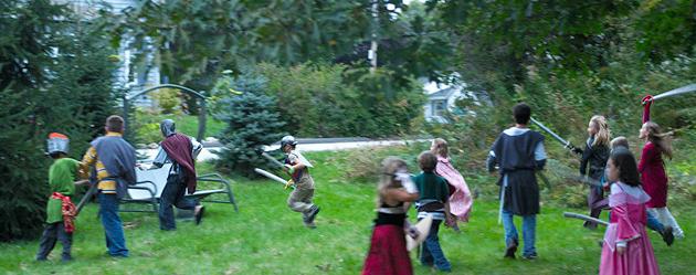 Festa Temàtica Princeses i Guerrers Foto 1