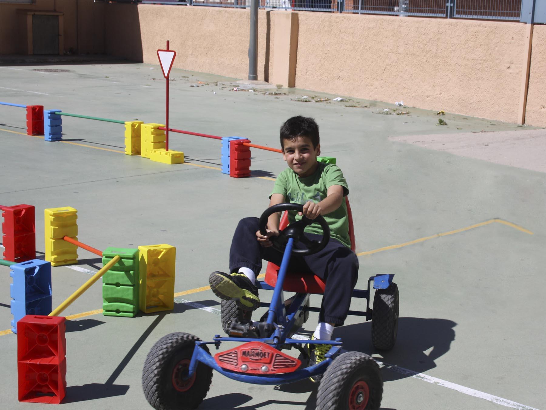 Karts a pedals Foto 1