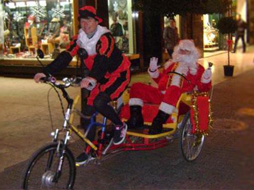 Papa Noel amb carreta Foto 1