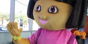 Visita de Dora la Exploradora Foto 1